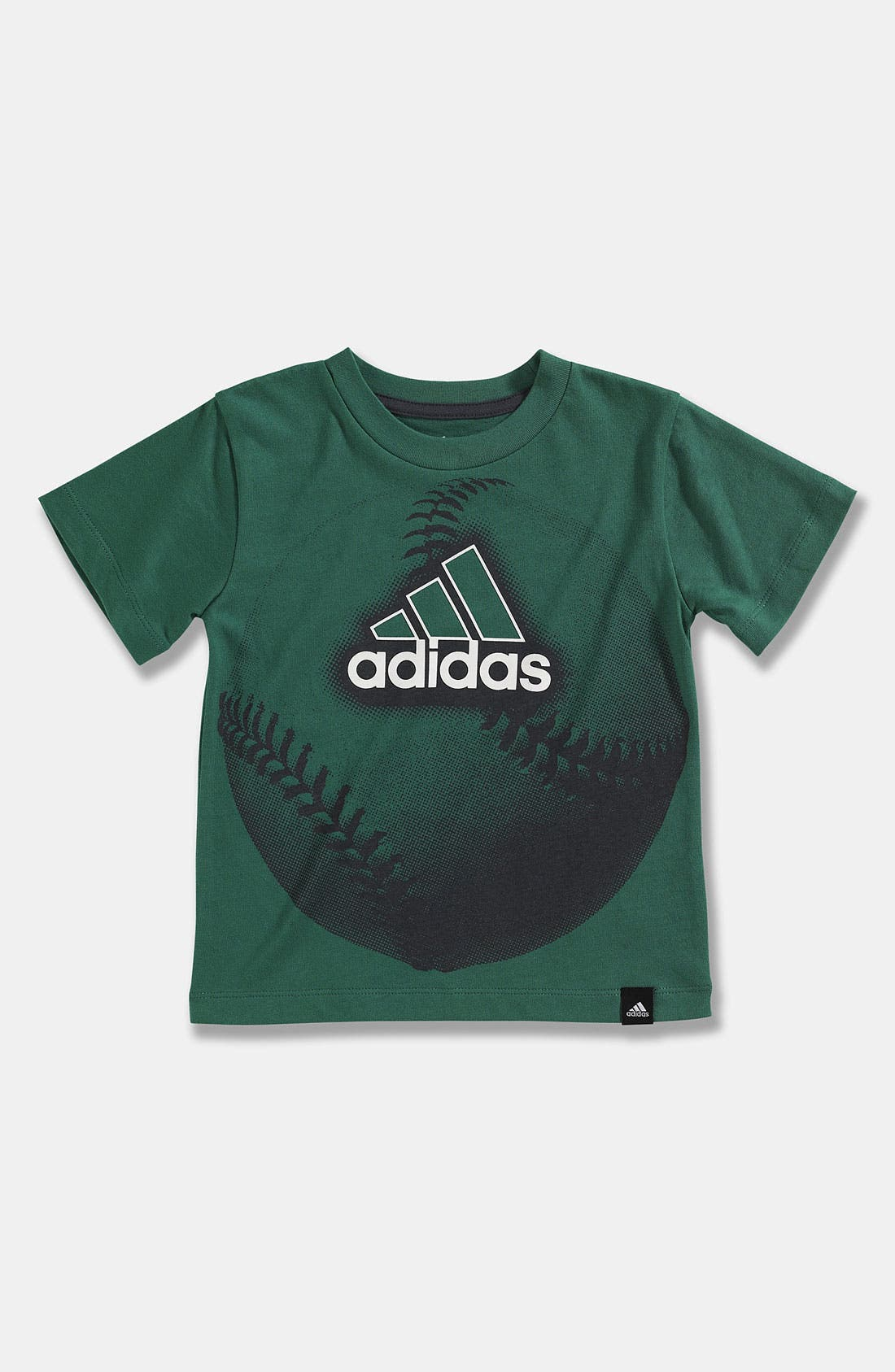 Alternate Image 1 Selected - adidas 'Big Ball' T-Shirt (Toddler)