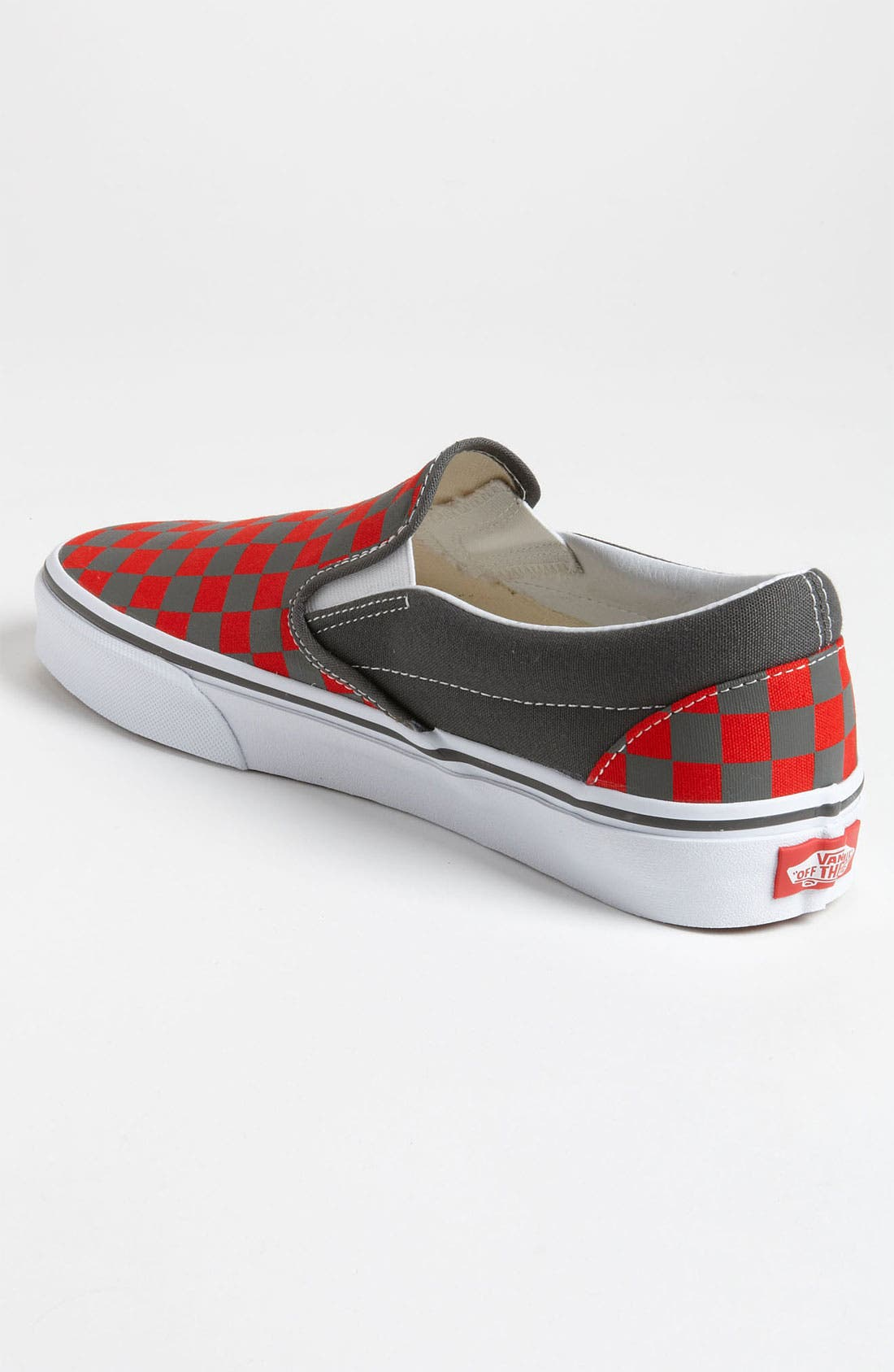 Alternate Image 2  - Vans 'Checkerboard' Slip-On (Men)