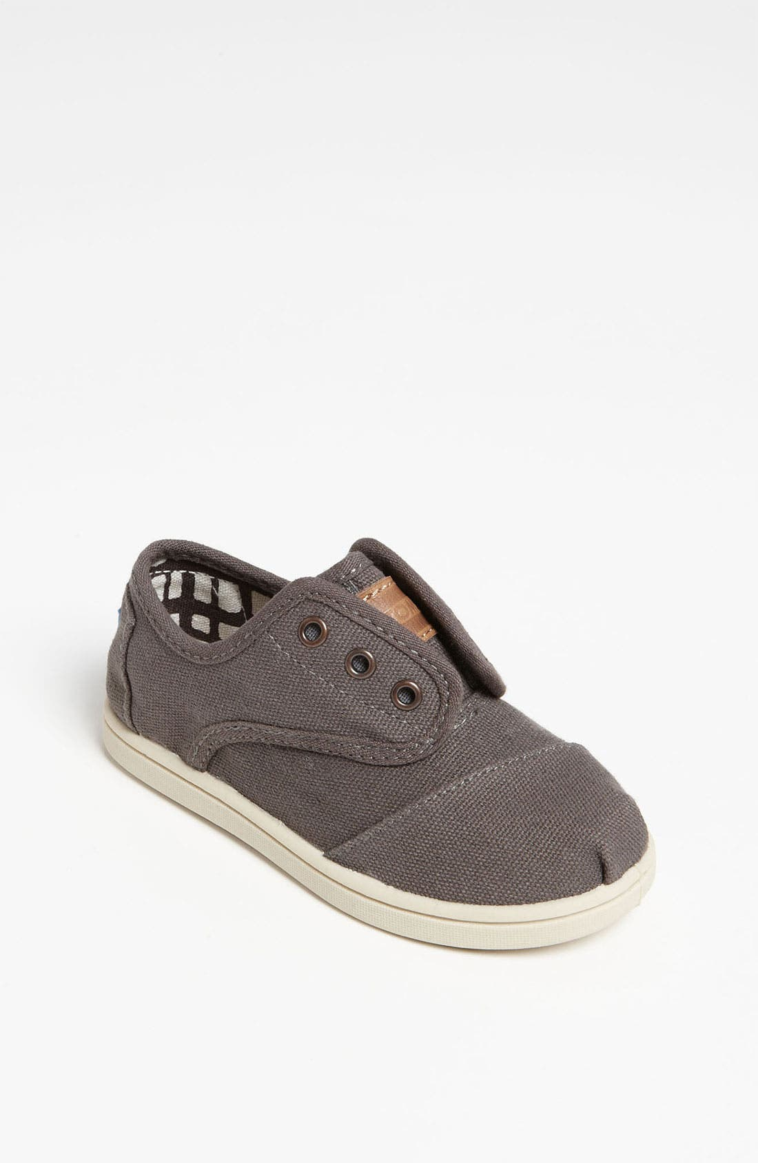 Alternate Image 1 Selected - TOMS 'Cordones - Tiny' Canvas Slip-On (Baby, Walker & Toddler)