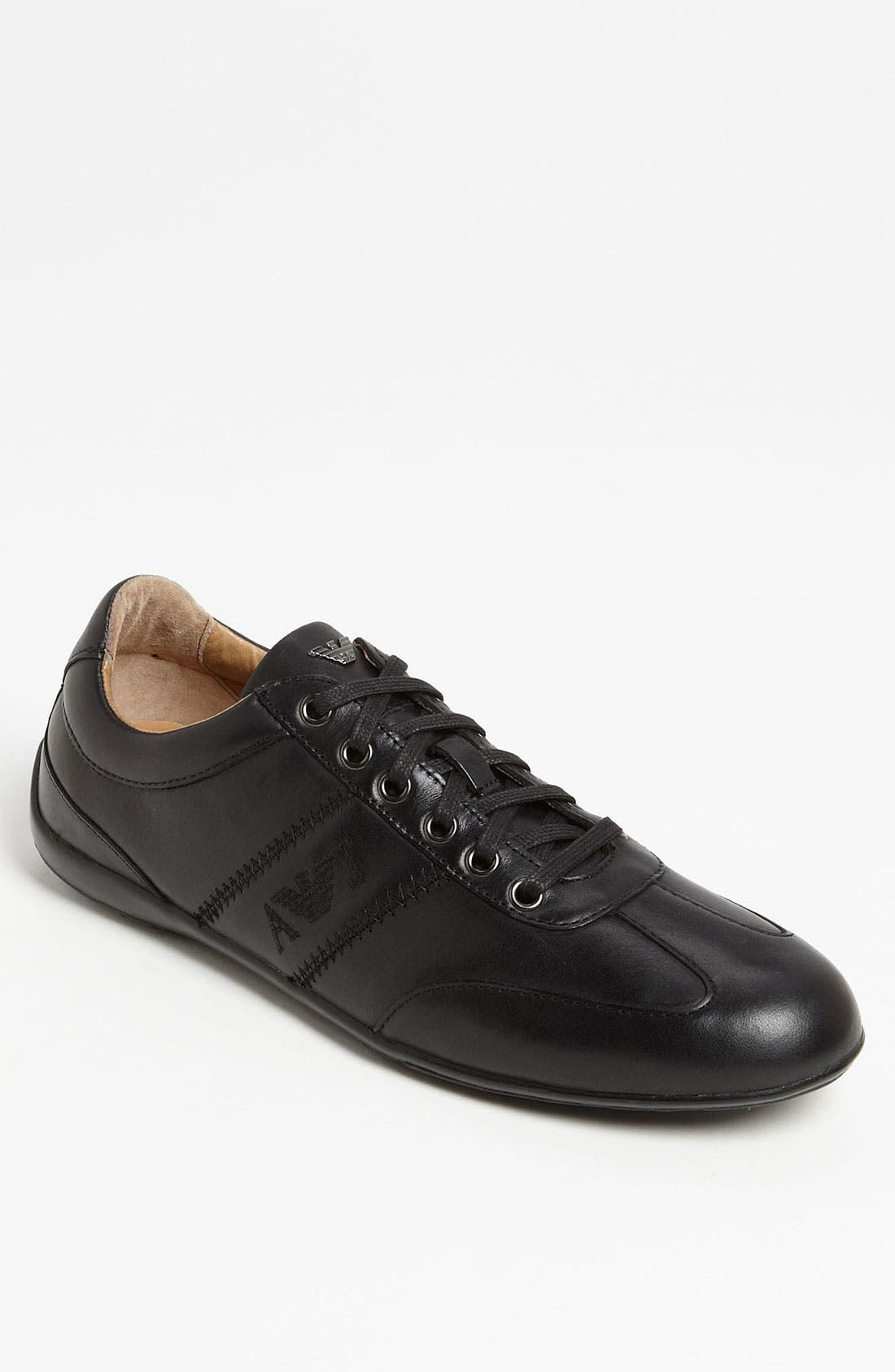 Main Image - Armani Jeans Leather Sneaker