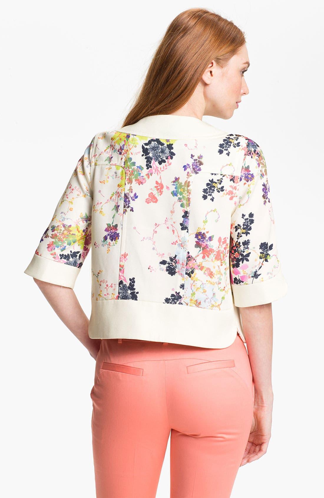 Alternate Image 2  - Ted Baker London 'Summer Bloom' Print Jacket