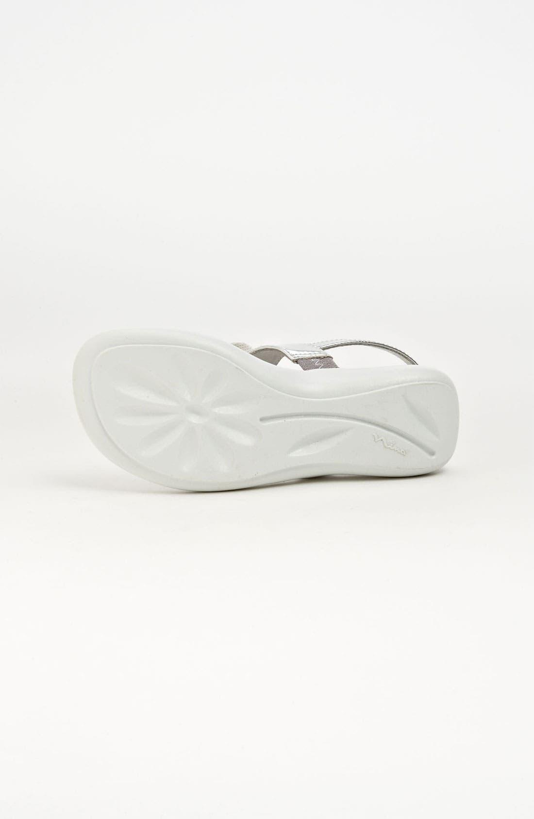 Alternate Image 4  - Nina 'Purly' Thong Sandal (Walker, Toddler & Little Kid)
