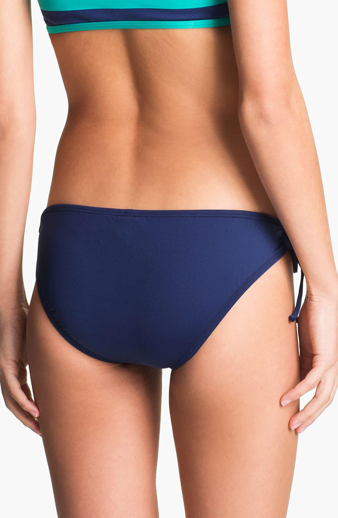 Alternate Image 3  - Splendid 'Marcel' Side Tie Bikini Bottoms