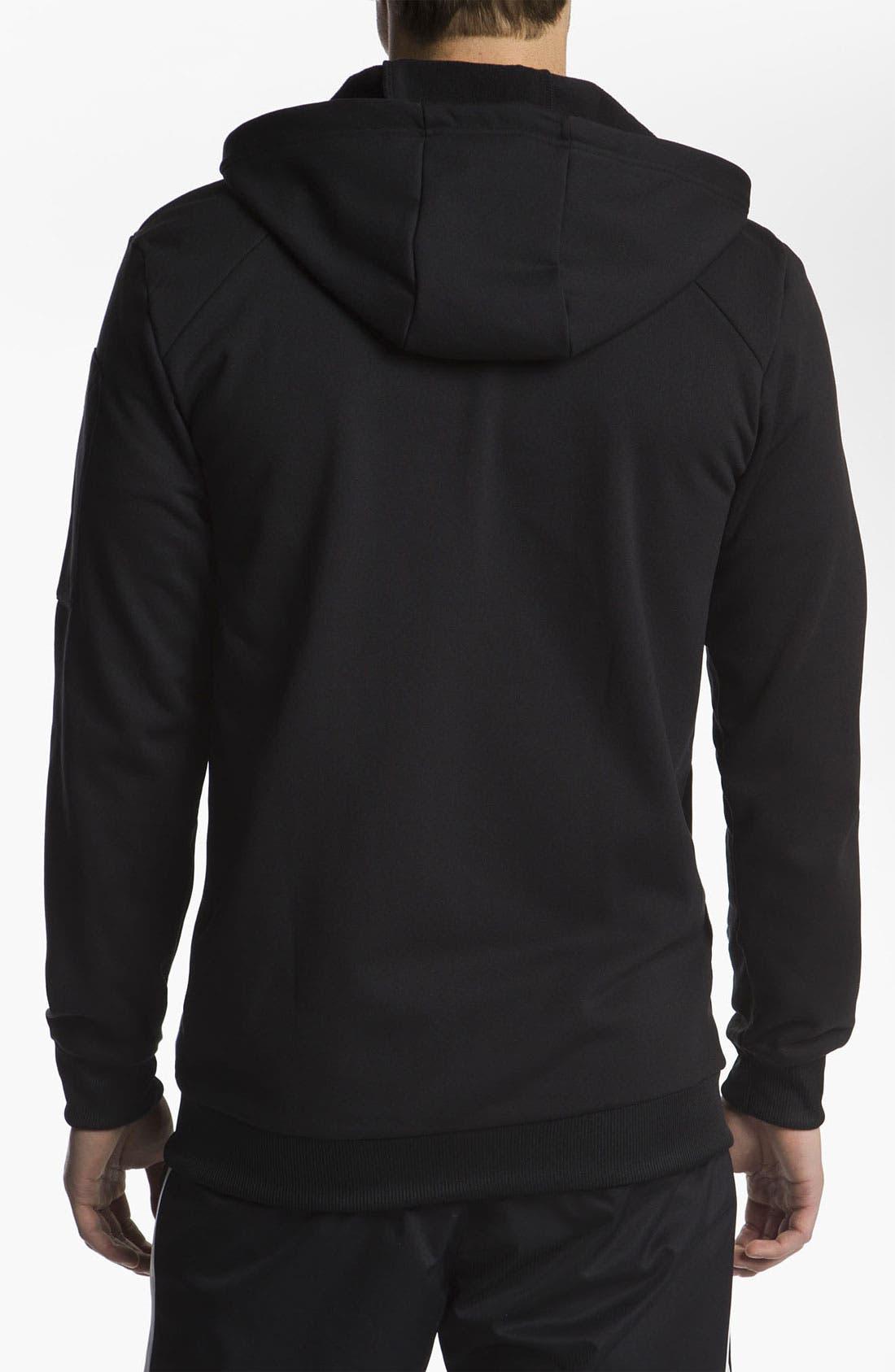 Alternate Image 2  - adidas 'C90' Zip Hoodie