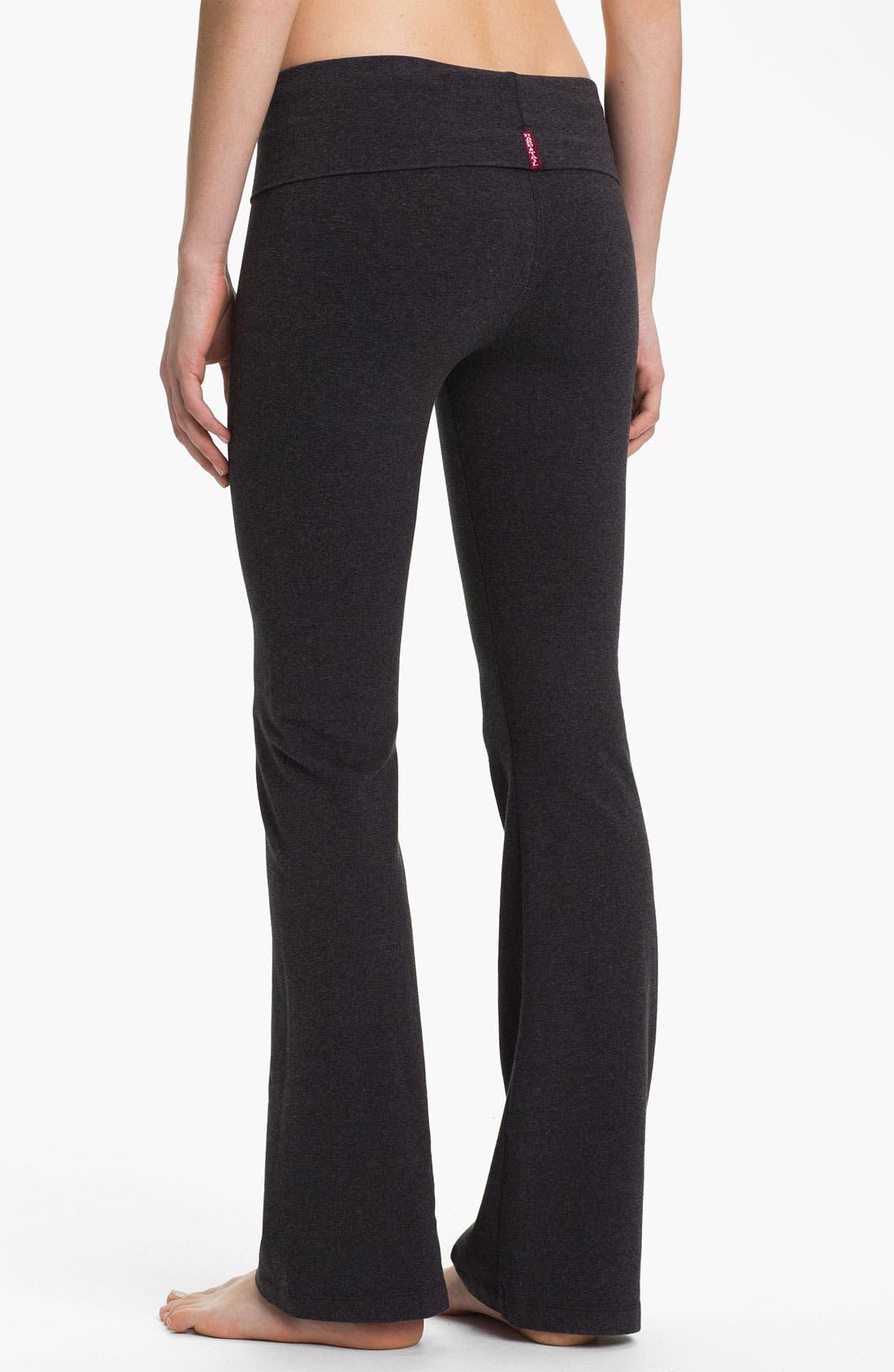 Alternate Image 2  - Hard Tail Bootcut Flare Knit Pants