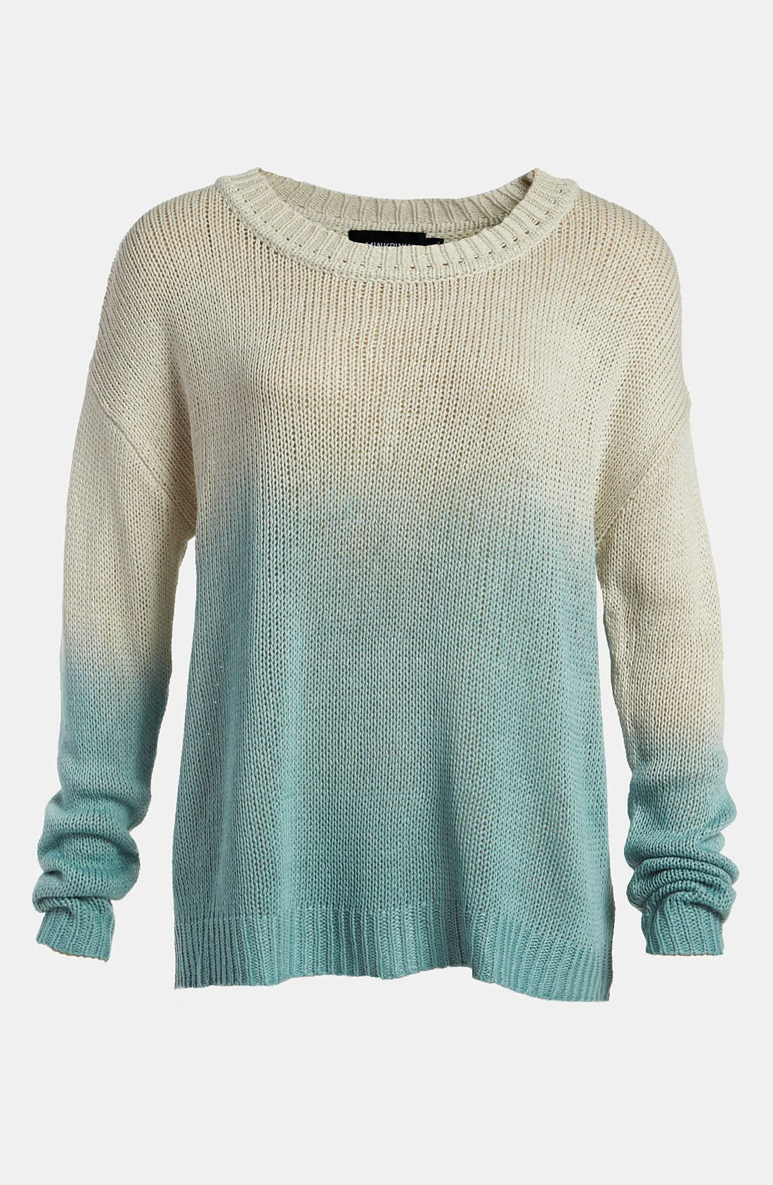 Alternate Image 1 Selected - MINKPINK 'Melting Moments' Dip Dye Sweater