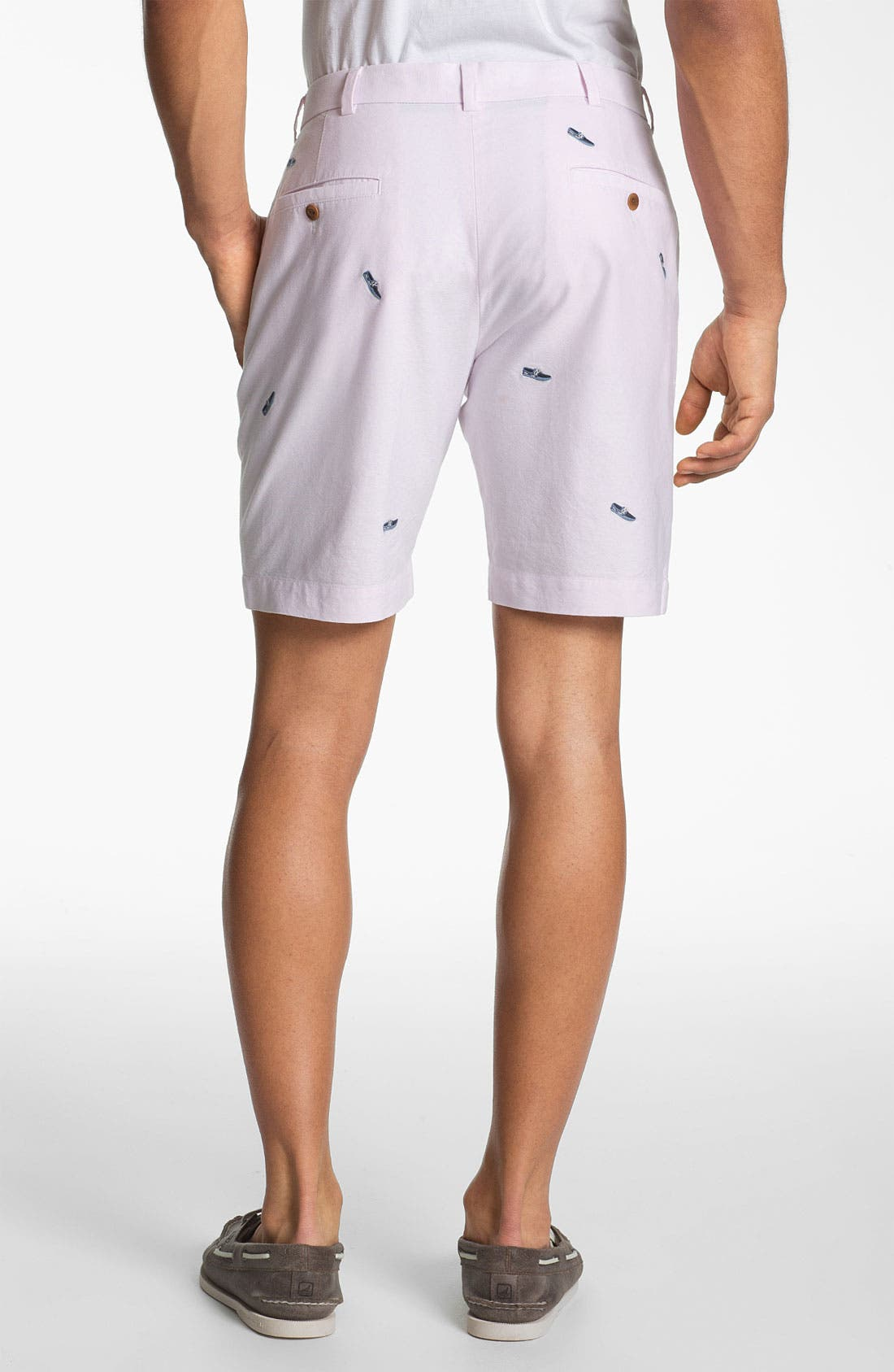 Alternate Image 2  - Brooks Brothers 'Boat Shoe' Shorts
