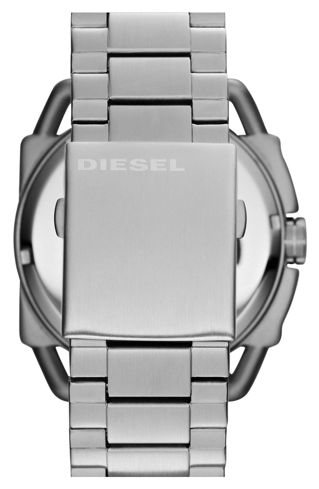 Alternate Image 3  - DIESEL® 'Descender' Bracelet Watch, 50mm