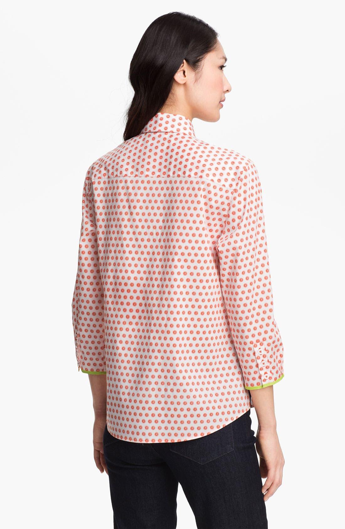 Alternate Image 2  - Foxcroft 'Citrus Dot' Shirt