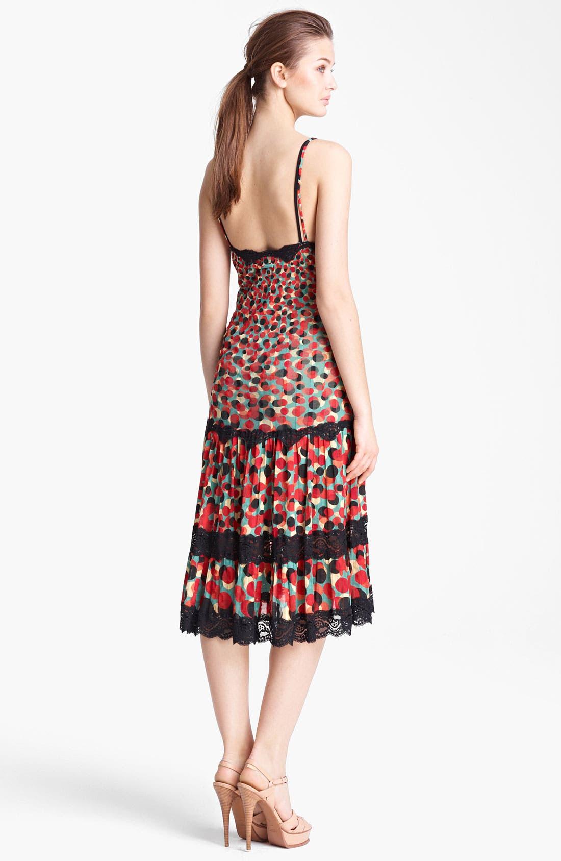 Alternate Image 2  - Jean Paul Gaultier Fuzzi Print Tulle Dress