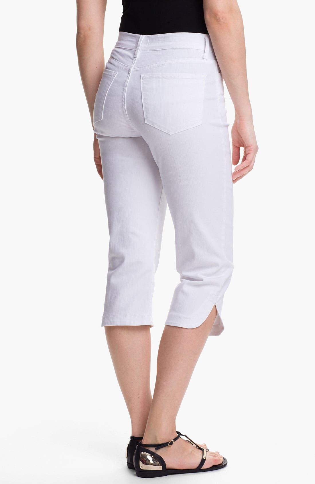 Alternate Image 2  - NYDJ 'Olga' Crop Stretch Jeans