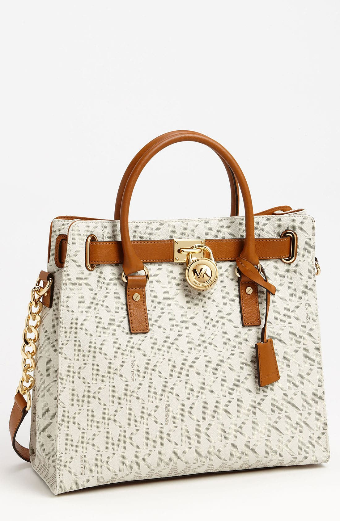 Alternate Image 1 Selected - MICHAEL Michael Kors 'Large Signature Hamilton' Tote