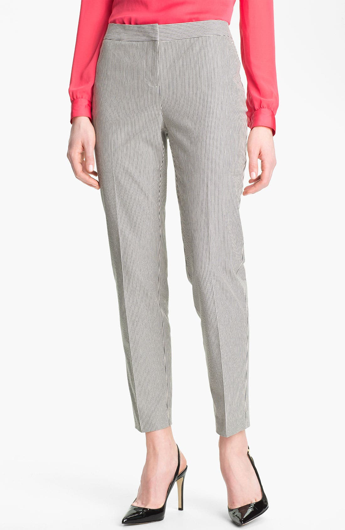 Alternate Image 1 Selected - Halogen 'Taylor' Patterned Skinny Ankle Pants