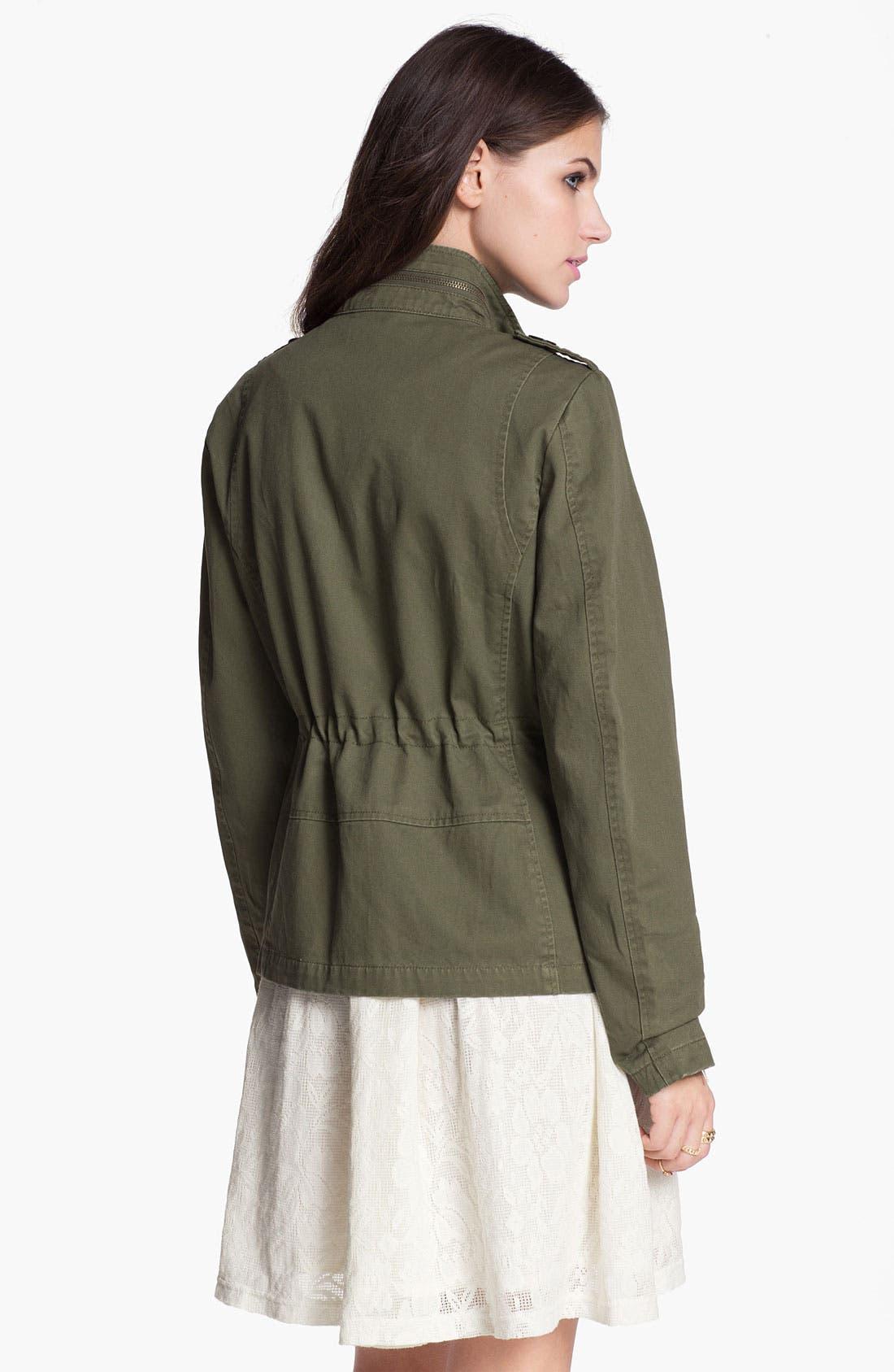 Alternate Image 2  - Jolt Embellished Utility Jacket (Juniors)
