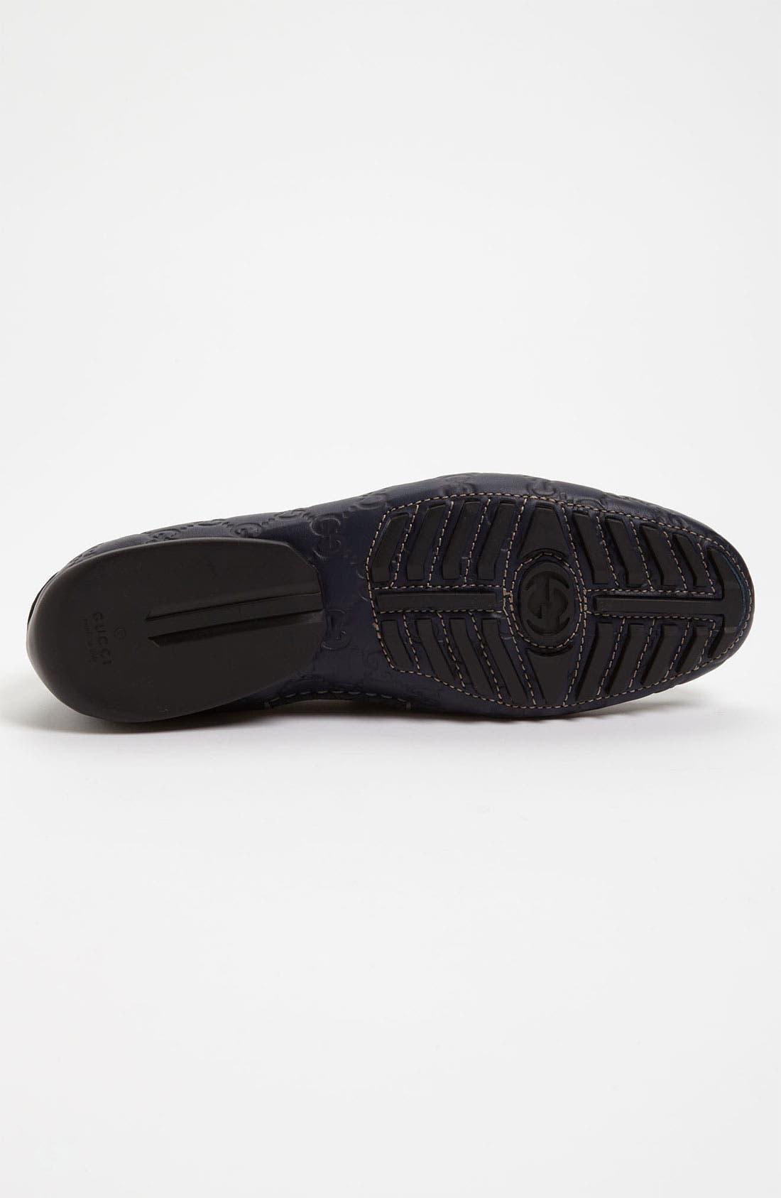 Alternate Image 4  - Gucci 'San Marino' Driving Shoe