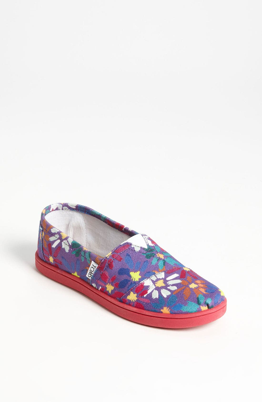 Alternate Image 1 Selected - TOMS 'Classic - Youth' Slip-On (Toddler, Little Kid & Big Kid)