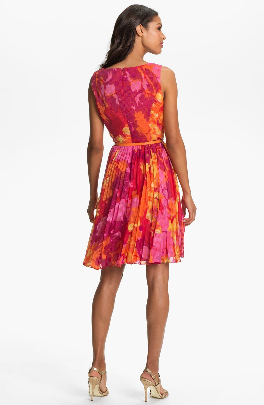 Alternate Image 3  - Adrianna Papell Print Fit & Flare Dress