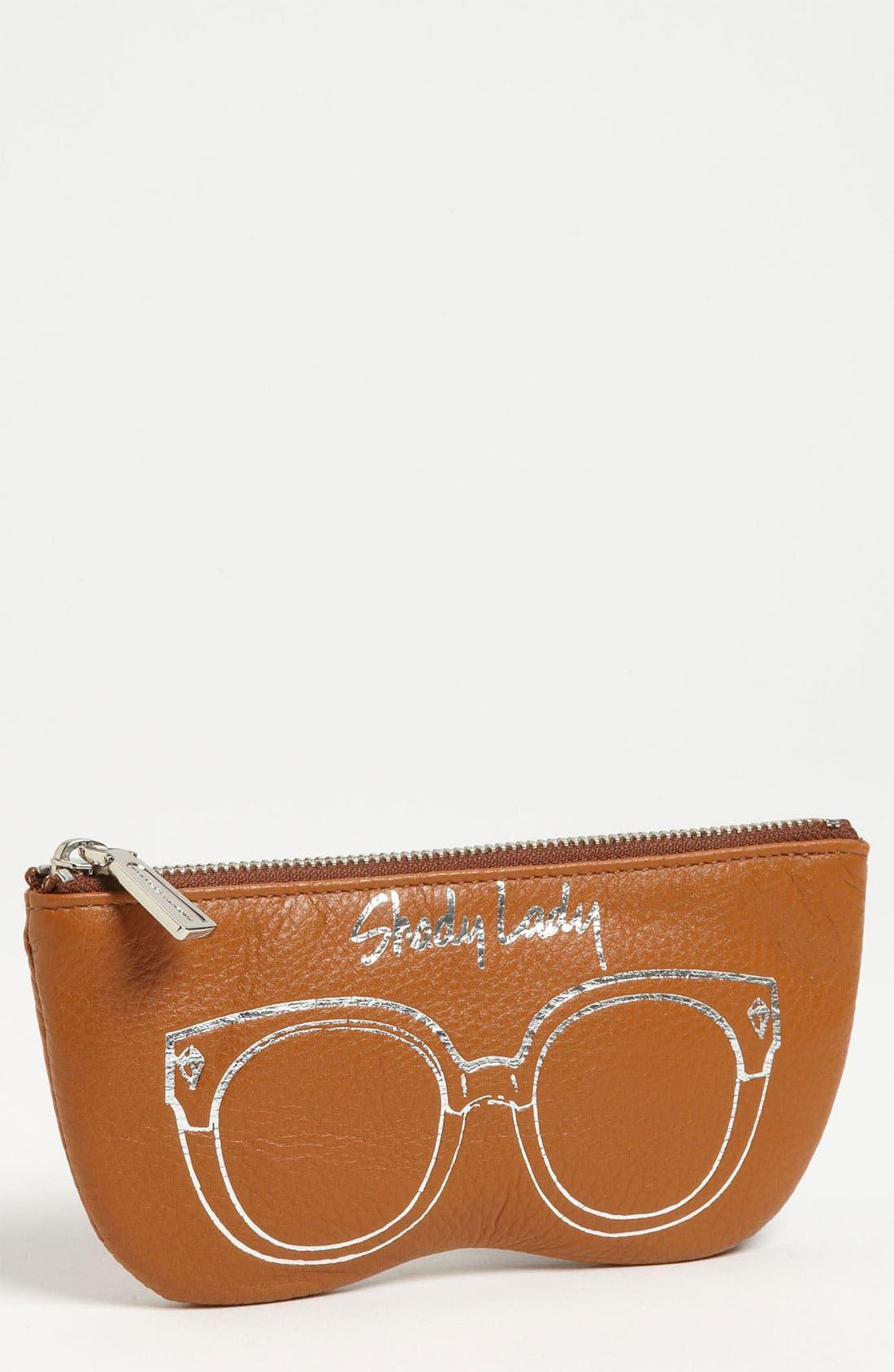Main Image - Rebecca Minkoff 'Shady Lady' Leather Sunglasses Case