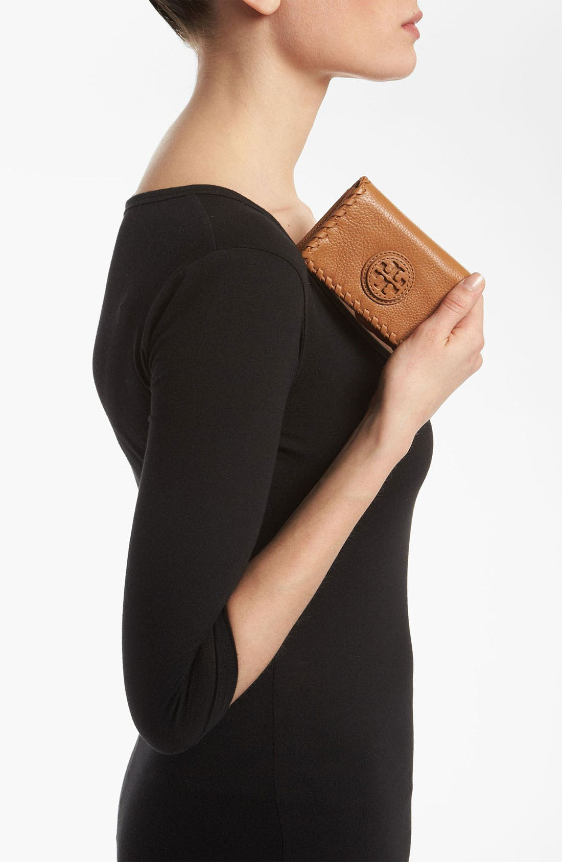 Alternate Image 2  - Tory Burch 'Marion' Foldable Card Case
