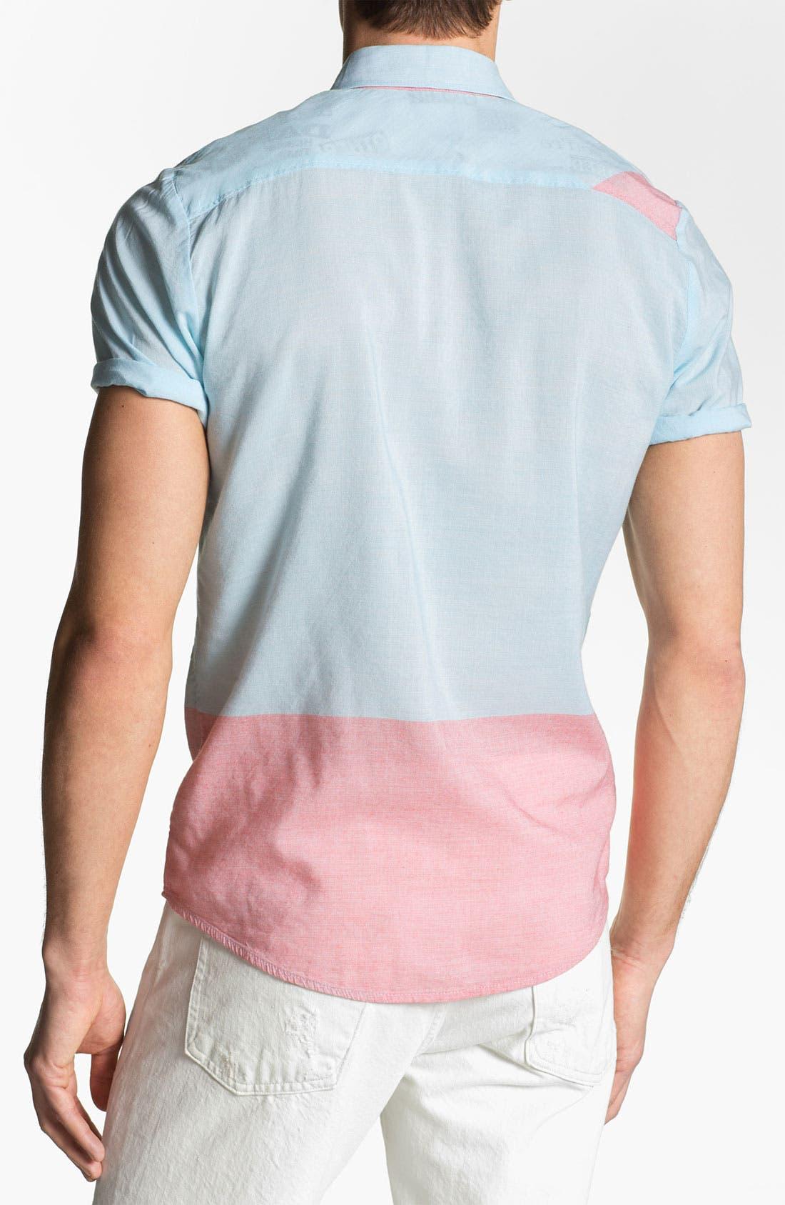 Alternate Image 2  - Volcom 'Bank Lock' Short Sleeve Woven Shirt