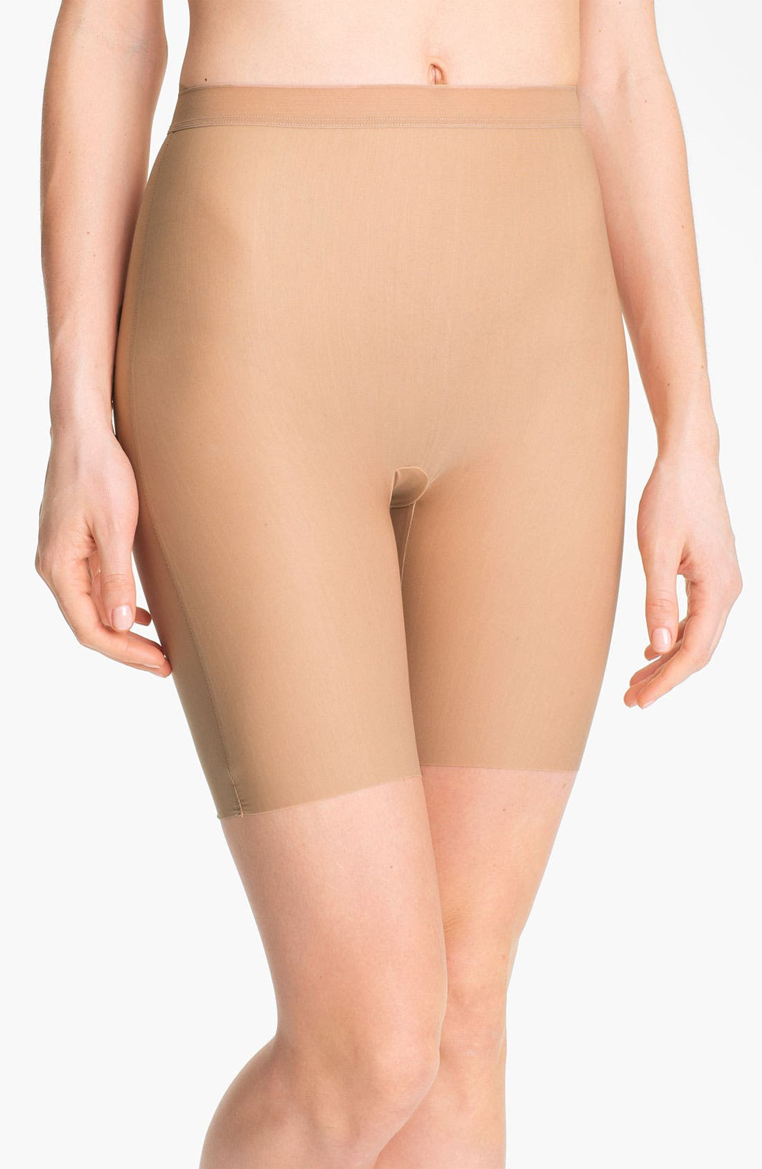 Main Image - Wacoal 'Smooth Complexion' Mid-Thigh Shaper Briefs