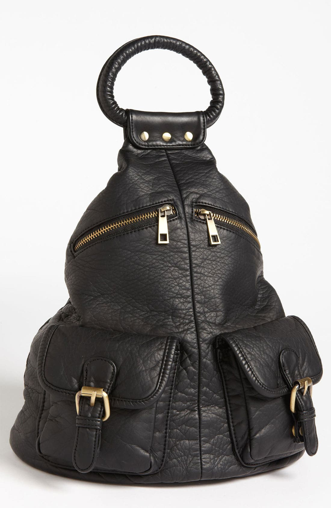 Alternate Image 1 Selected - Cesca Faux Leather Backpack