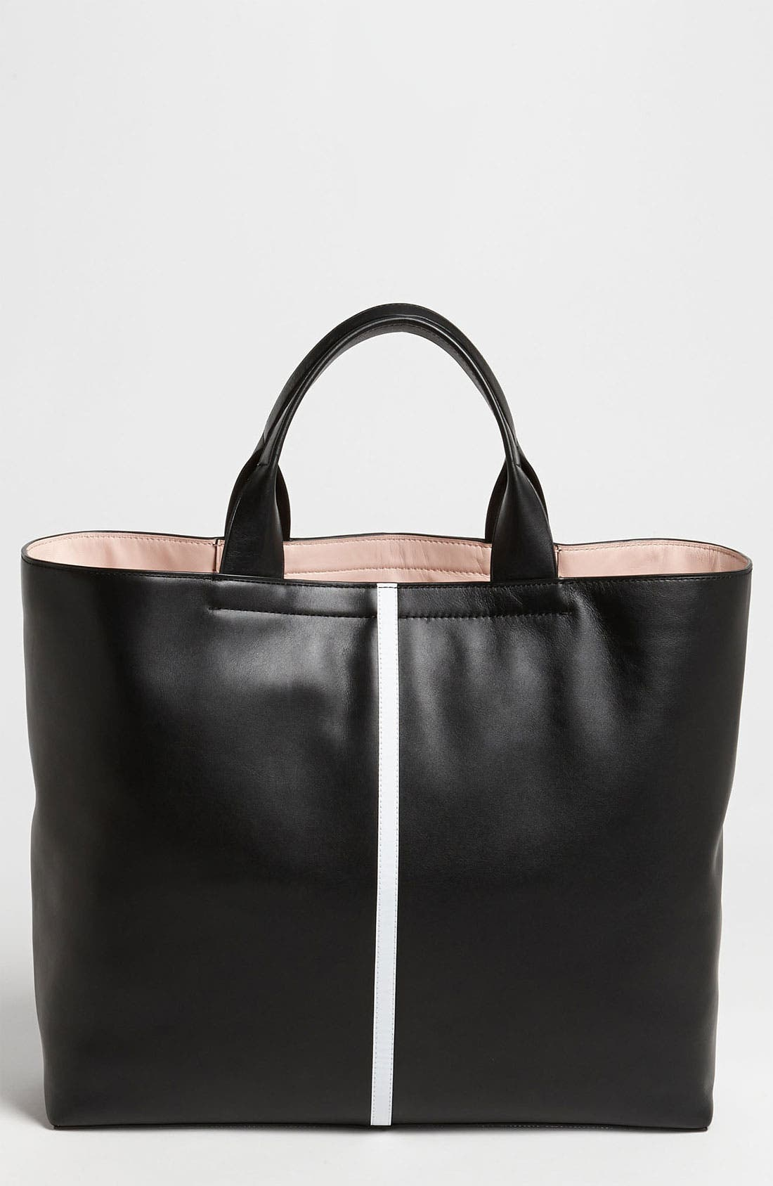Alternate Image 1 Selected - Reed Krakoff 'Track' Glazed Leather Tote