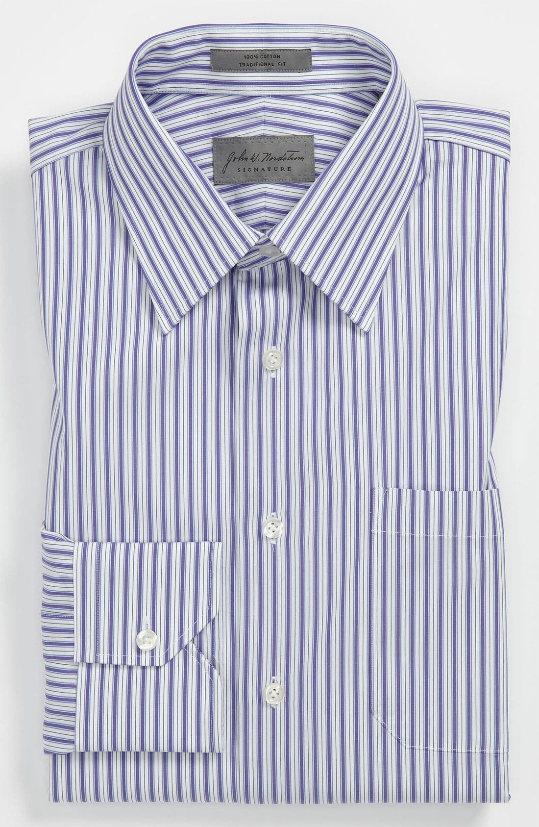 Alternate Image 1 Selected - John W. Nordstrom Traditional Fit Dress Shirt