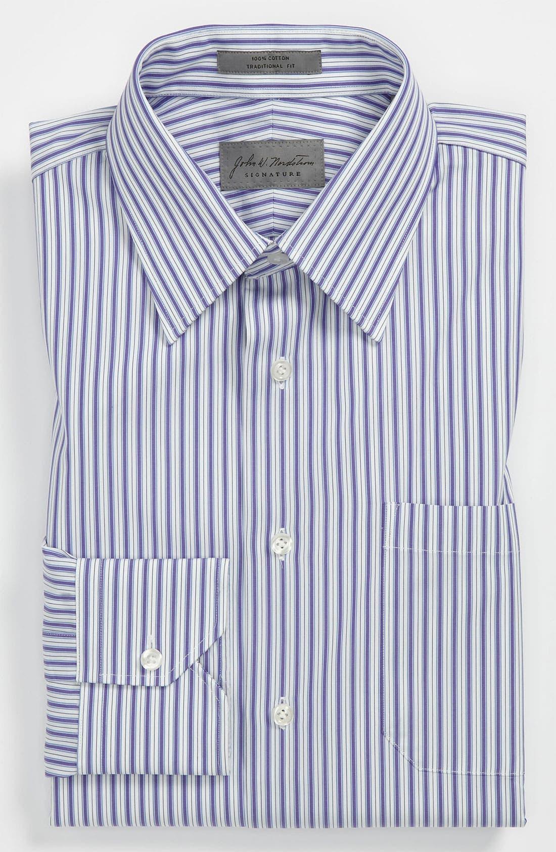 Main Image - John W. Nordstrom Traditional Fit Dress Shirt