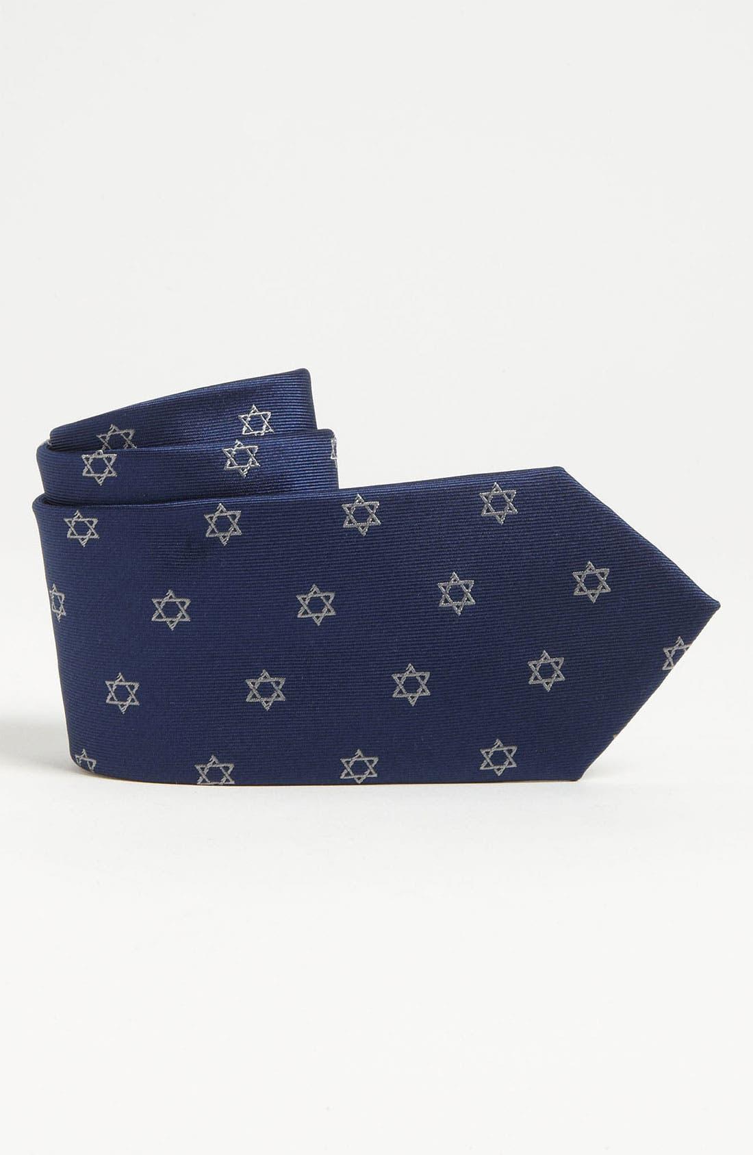 Main Image - Nordstrom Woven Silk Tie (Little Boys)