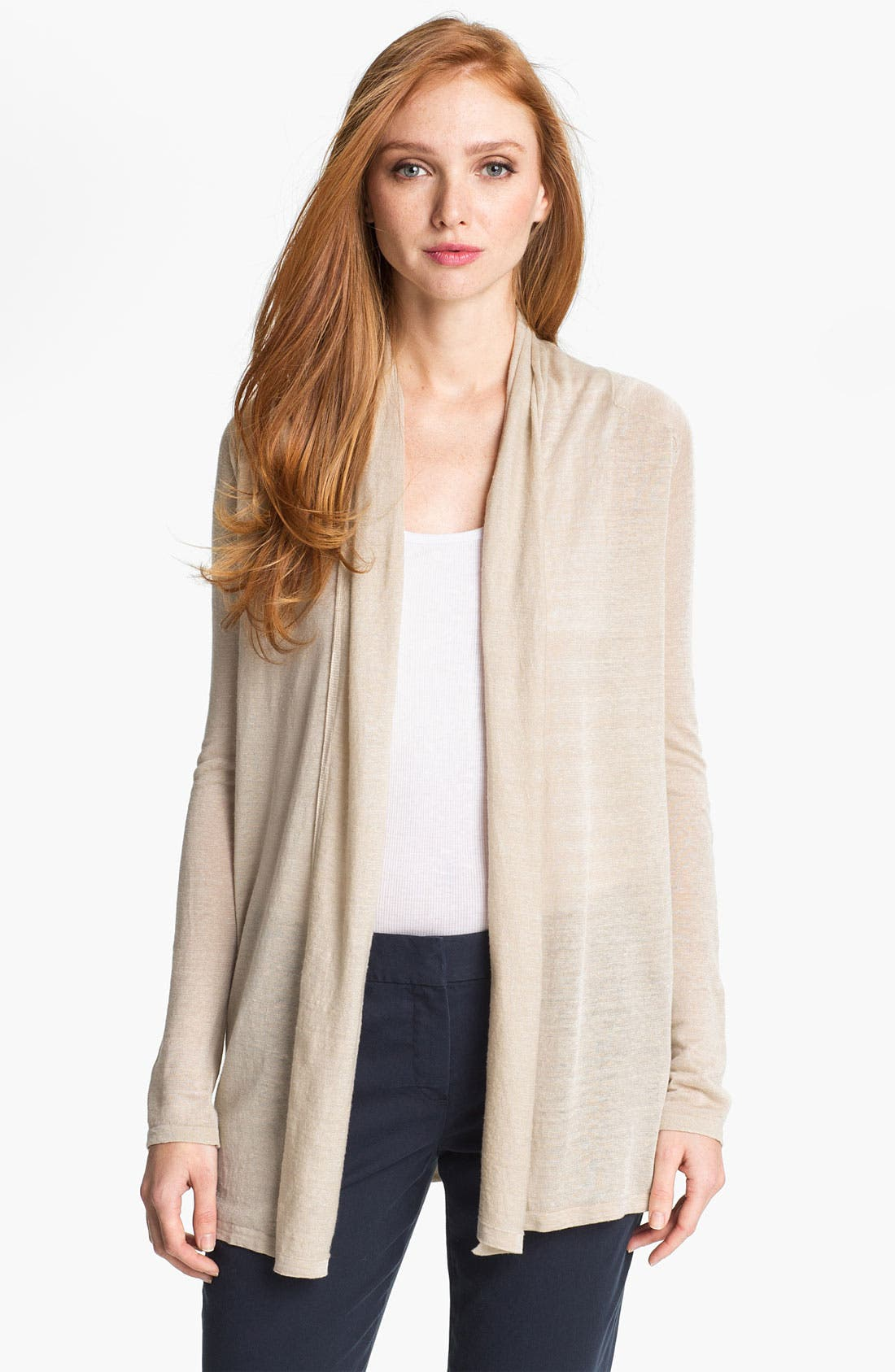 Main Image - Theory 'Ashtry C.' Open Cardigan