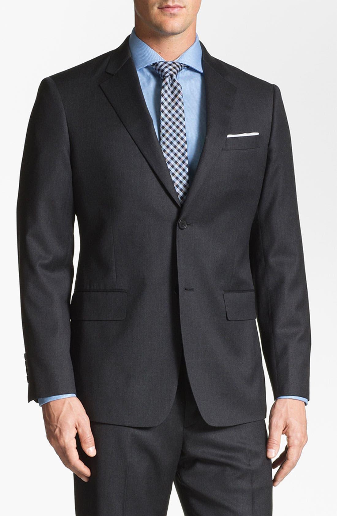 Alternate Image 3  - John W. Nordstrom 'Travel' Classic Fit Wool Suit