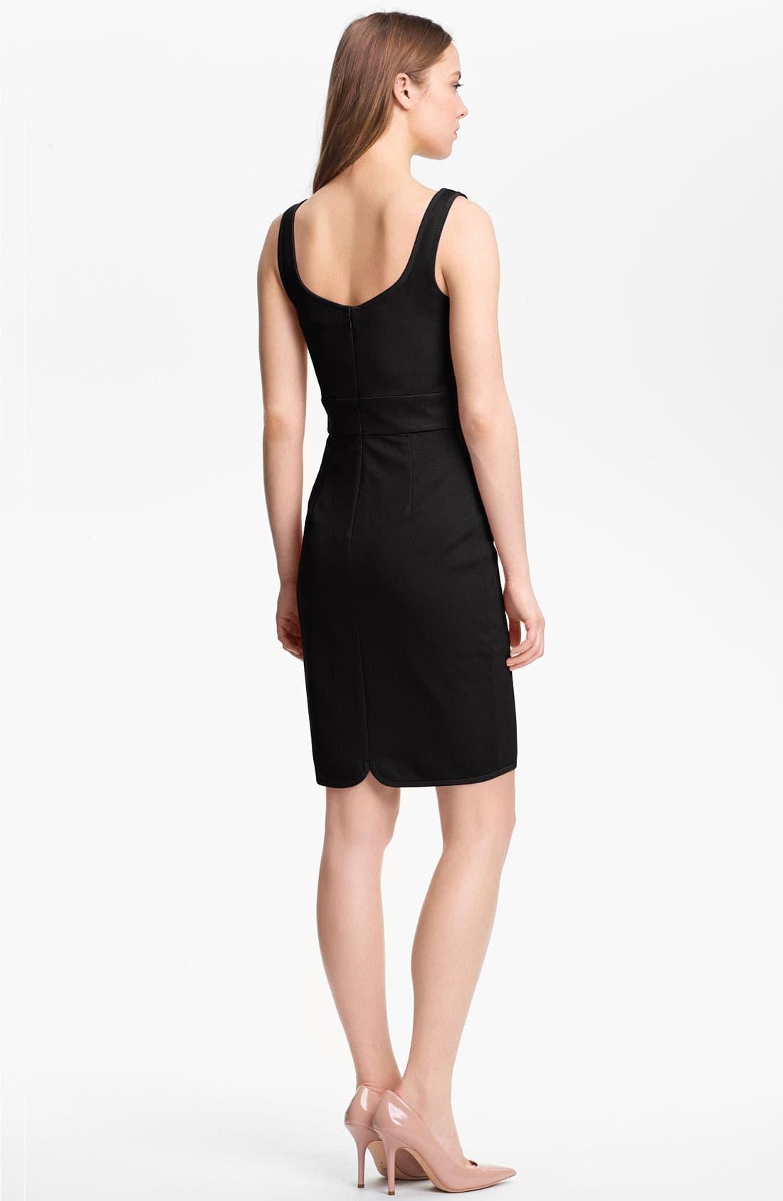 Alternate Image 2  - Trina Turk 'In Love' Stretch Sheath Dress