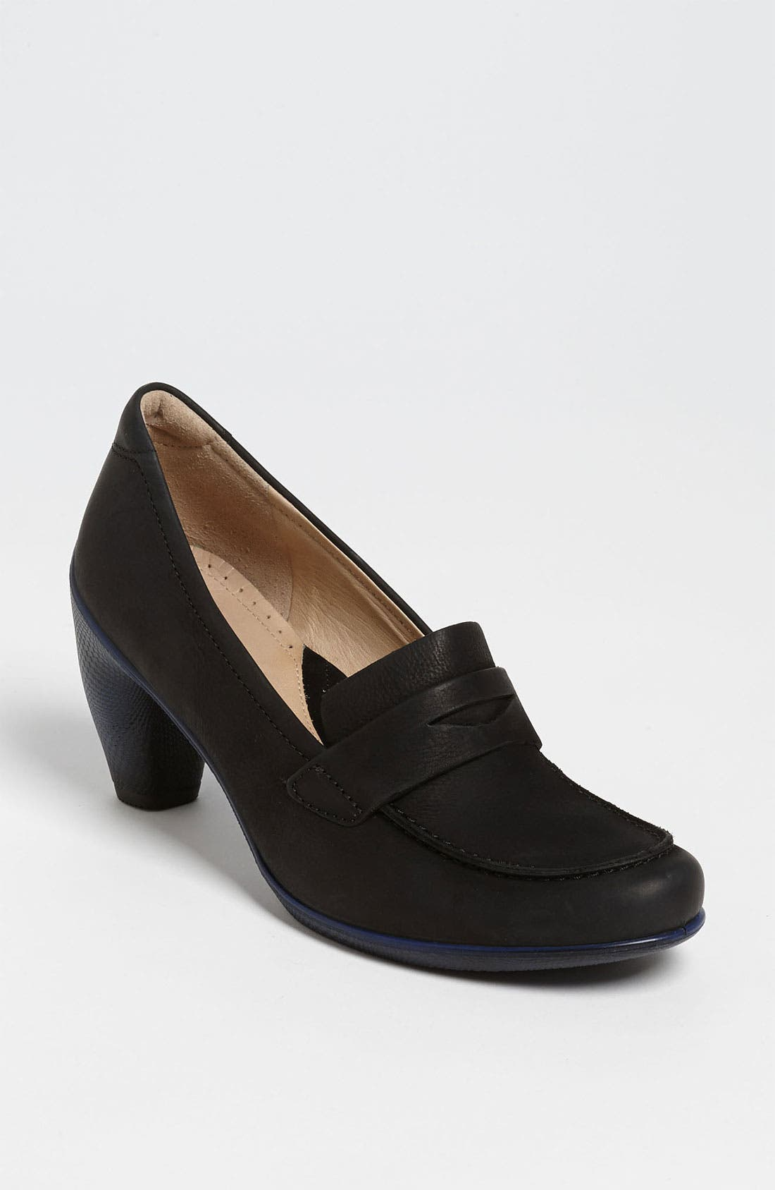 Main Image - ECCO 'Sculptured 65 College' Penny Loafer Pump