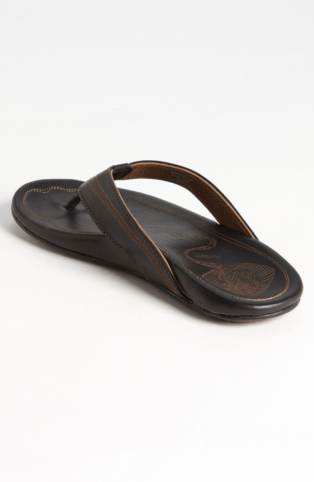 Alternate Image 2  - OluKai 'Manini' Flip Flop (Men)