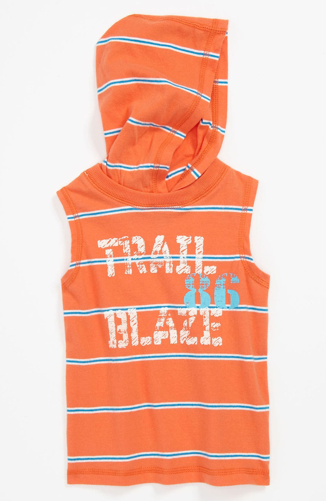 Alternate Image 1 Selected - Pumpkin Patch Hooded Top (Baby)