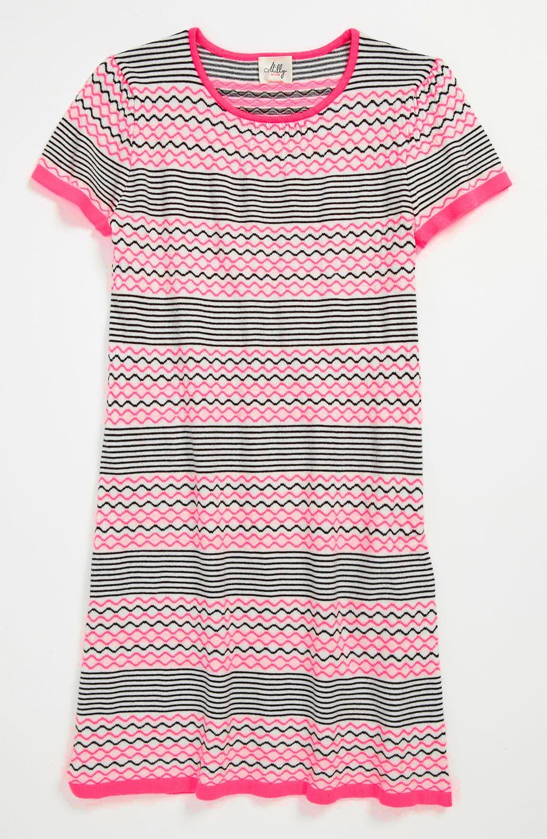 Main Image - Milly Minis Knit Dress (Little Girls & Big Girls)