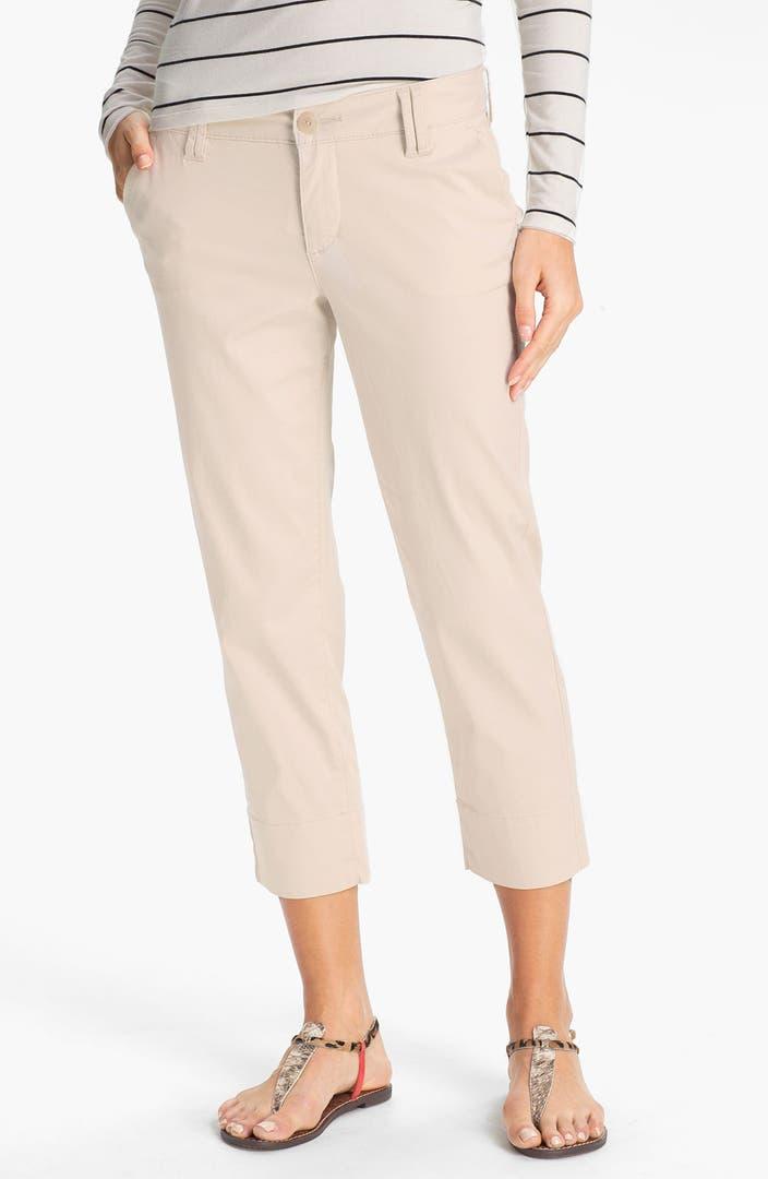 Crop Pants Petite - results from brands Eileen Fisher, Kut, Rafaella, products like Talbots Women's Essential Terry Straight Leg Crop Pant - Black - 2X Plus Petites Summer , INC I.n.c. Petite Cropped Skinny Pants, Created for Macy's - Black, Amanda & Chelsea Glenplaid Skinny Pants (Petite) at Nordstrom Rack - Womens Petite Pants.