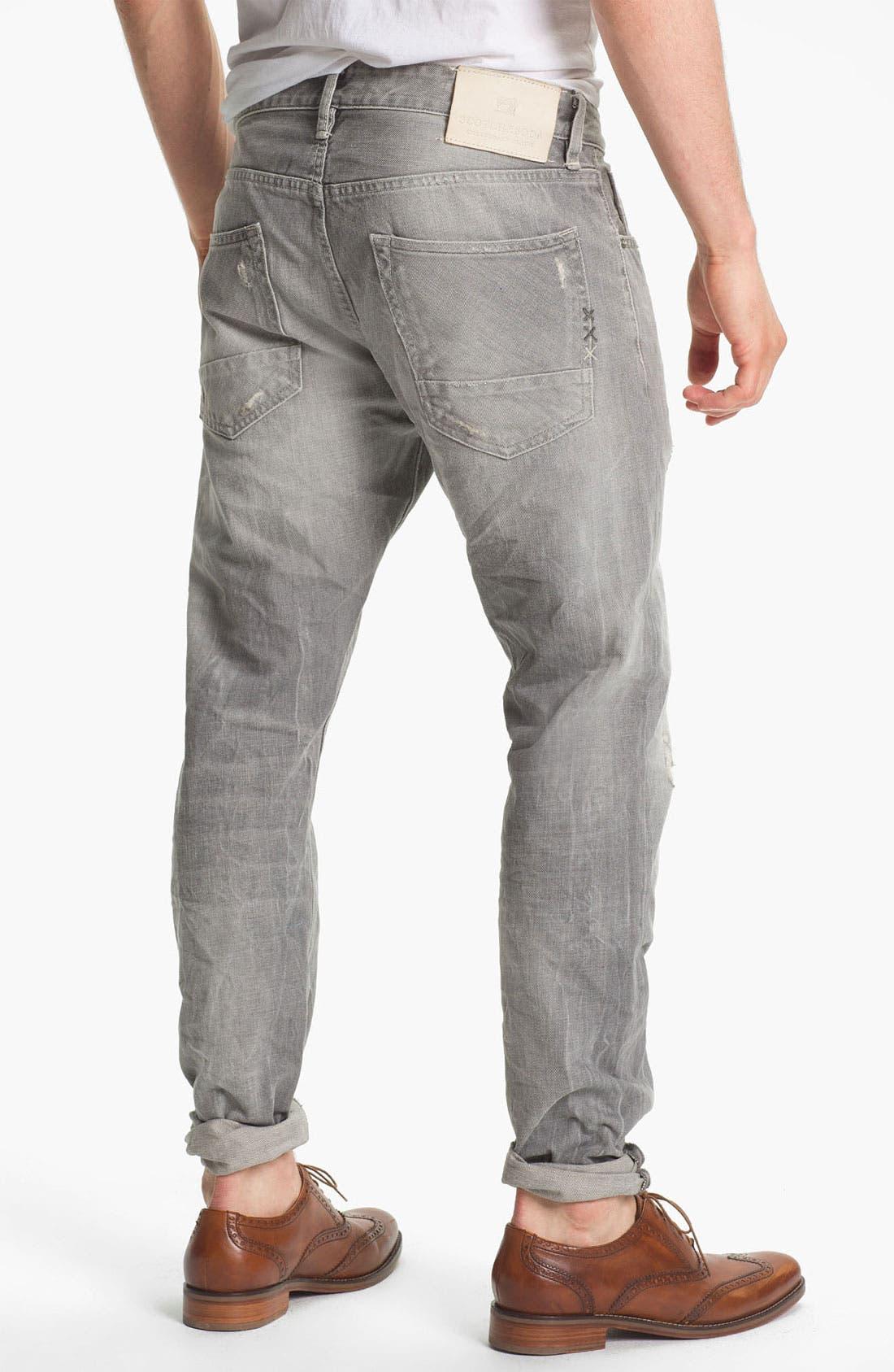 Alternate Image 2  - Scotch & Soda 'Ralston' Slim Straight Leg Jeans (Stoner)