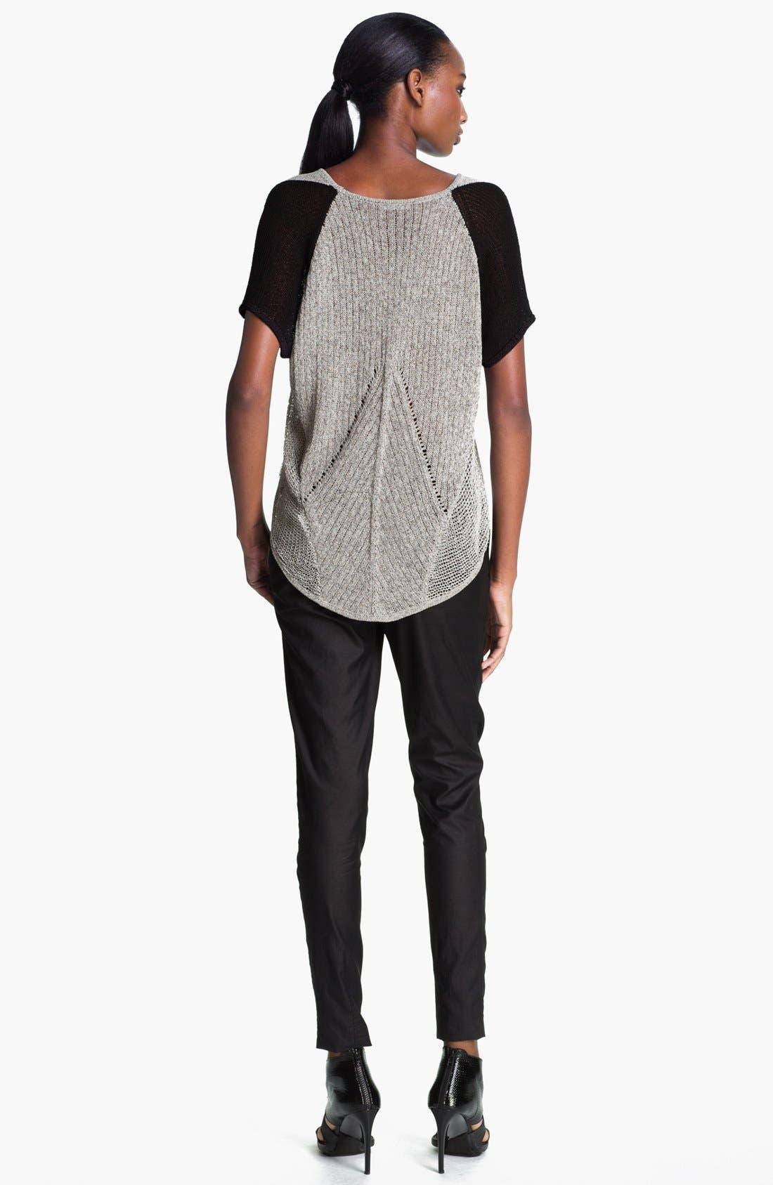 Alternate Image 3  - Helmut Lang 'Transparent Mélange' Pullover