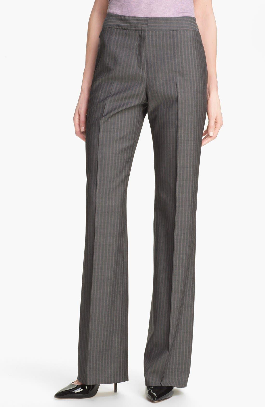 Alternate Image 1 Selected - Santorelli 'Mara' Wool Pants
