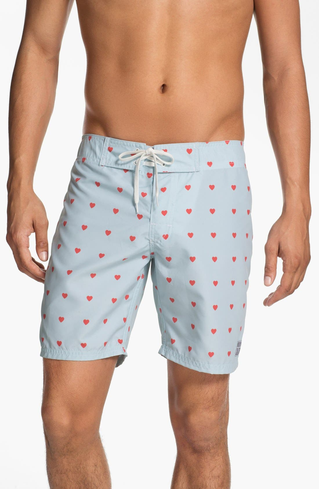 Alternate Image 1 Selected - ambsn 'Cupid' Print Board Shorts