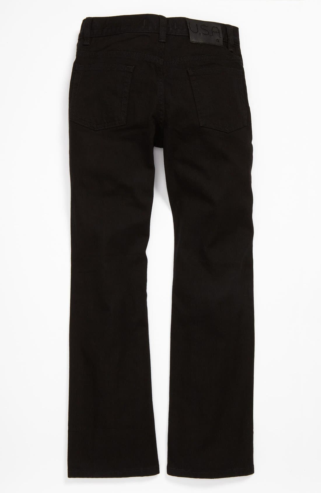 Alternate Image 1 Selected - John Varvatos Star USA Straight Leg Jeans (Big Boys)