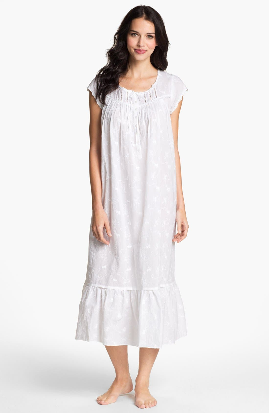 Main Image - Eileen West 'Breaking Waves' Nightgown