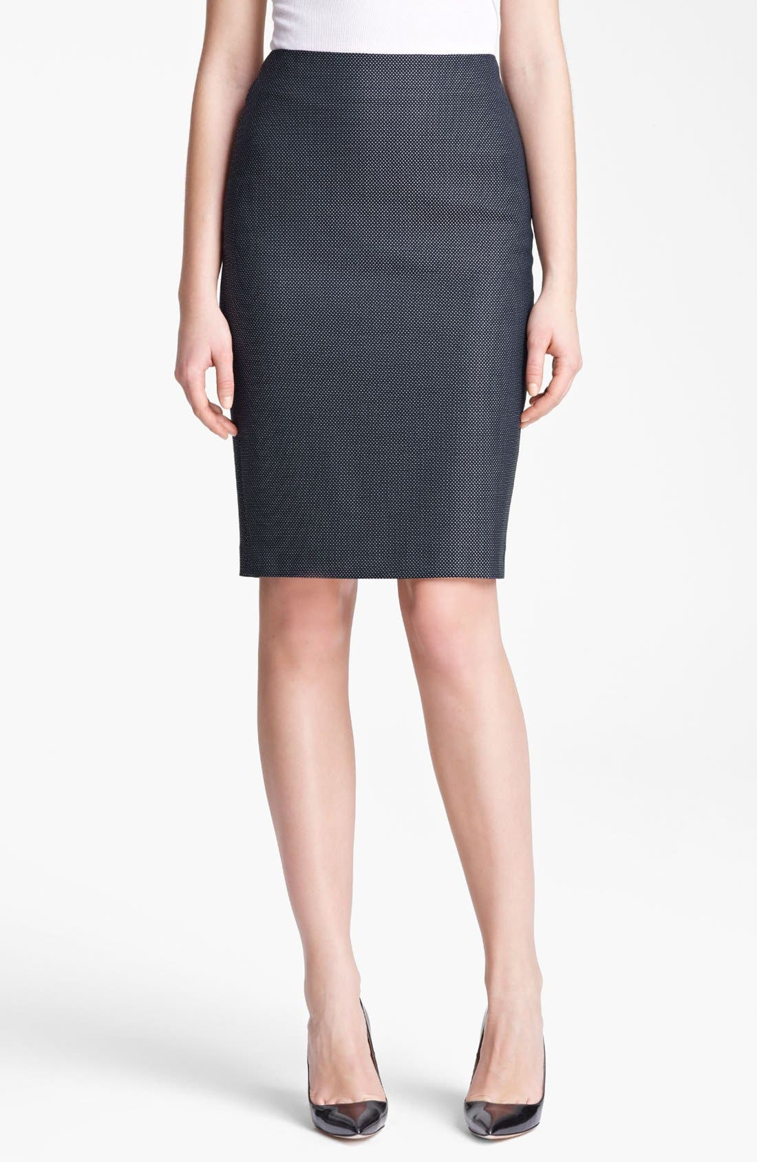 Main Image - Max Mara 'Svelto' Pin Dot Skirt