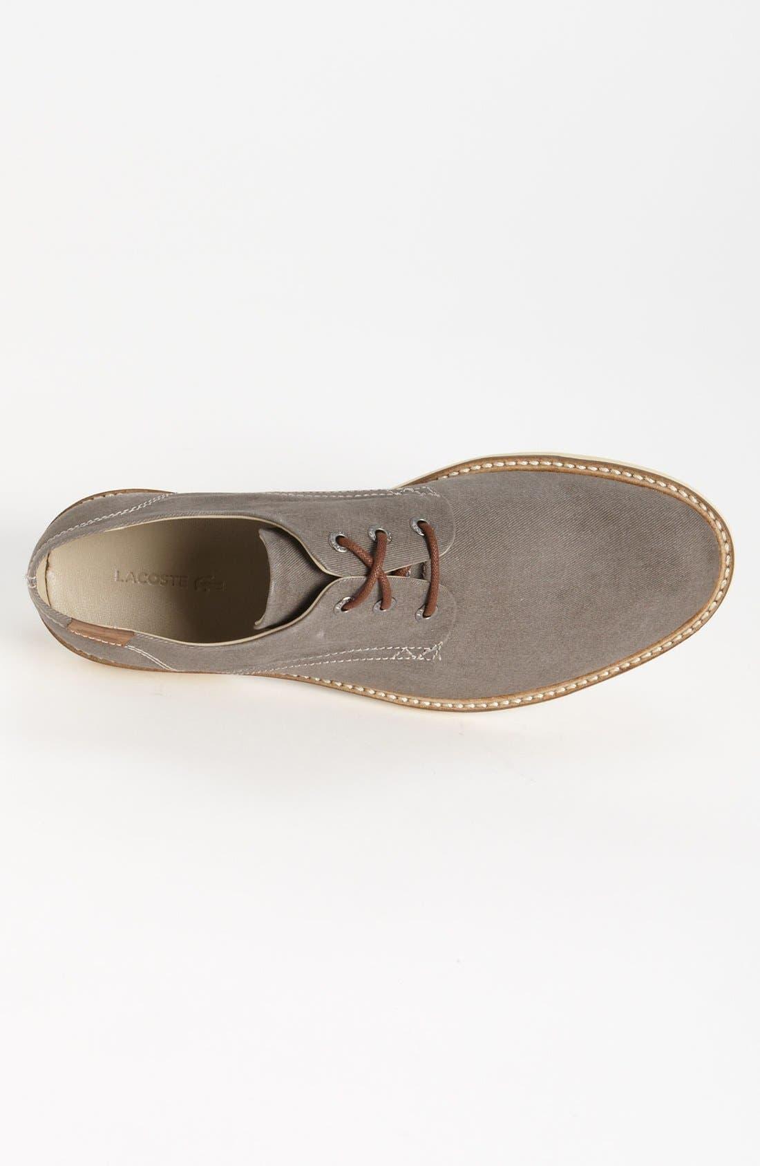 Alternate Image 3  - Lacoste 'Sherbrooke 7' Twill Buck Shoe