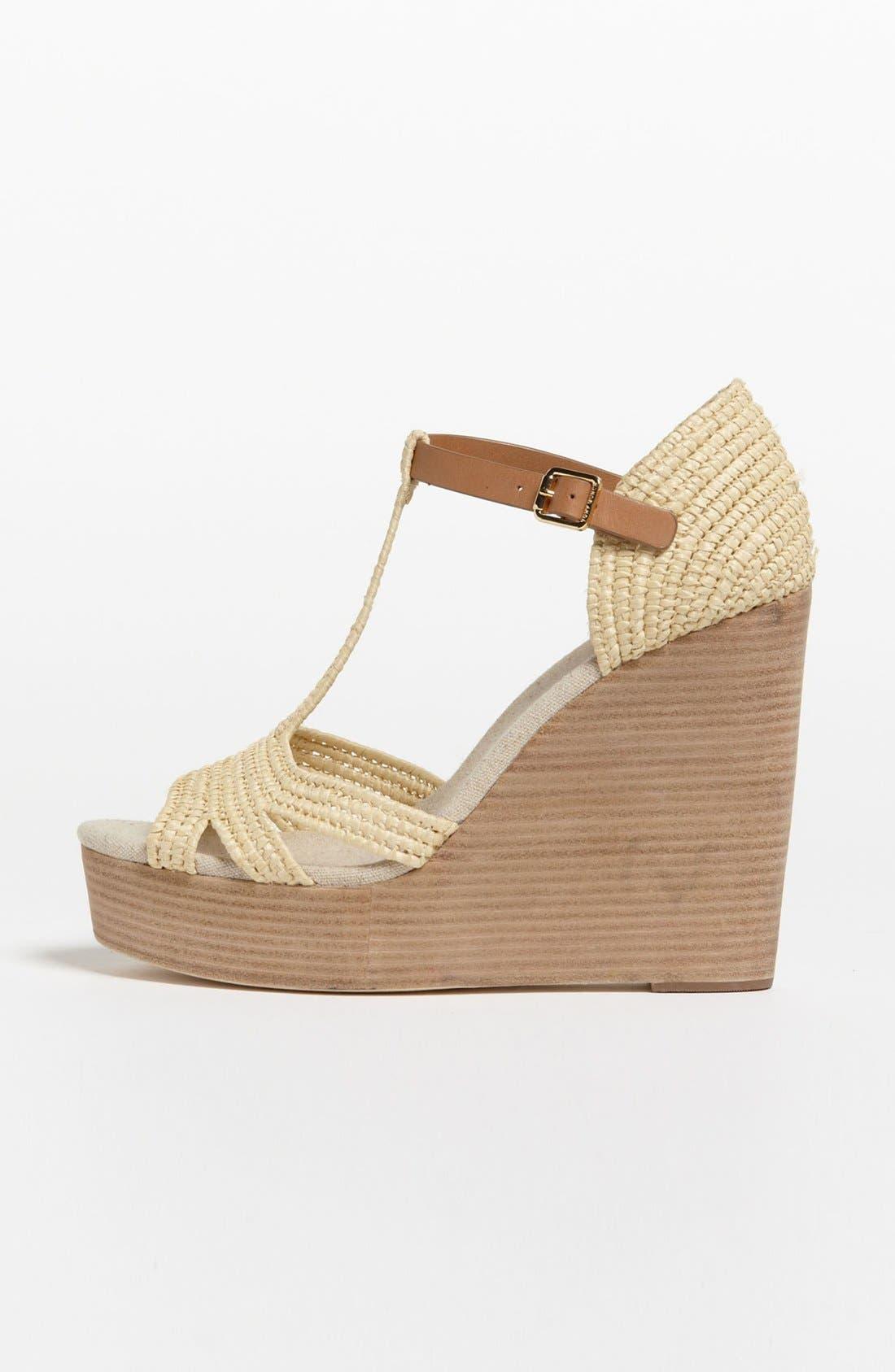 Alternate Image 4  - Tory Burch 'Carina' Wedge Sandal