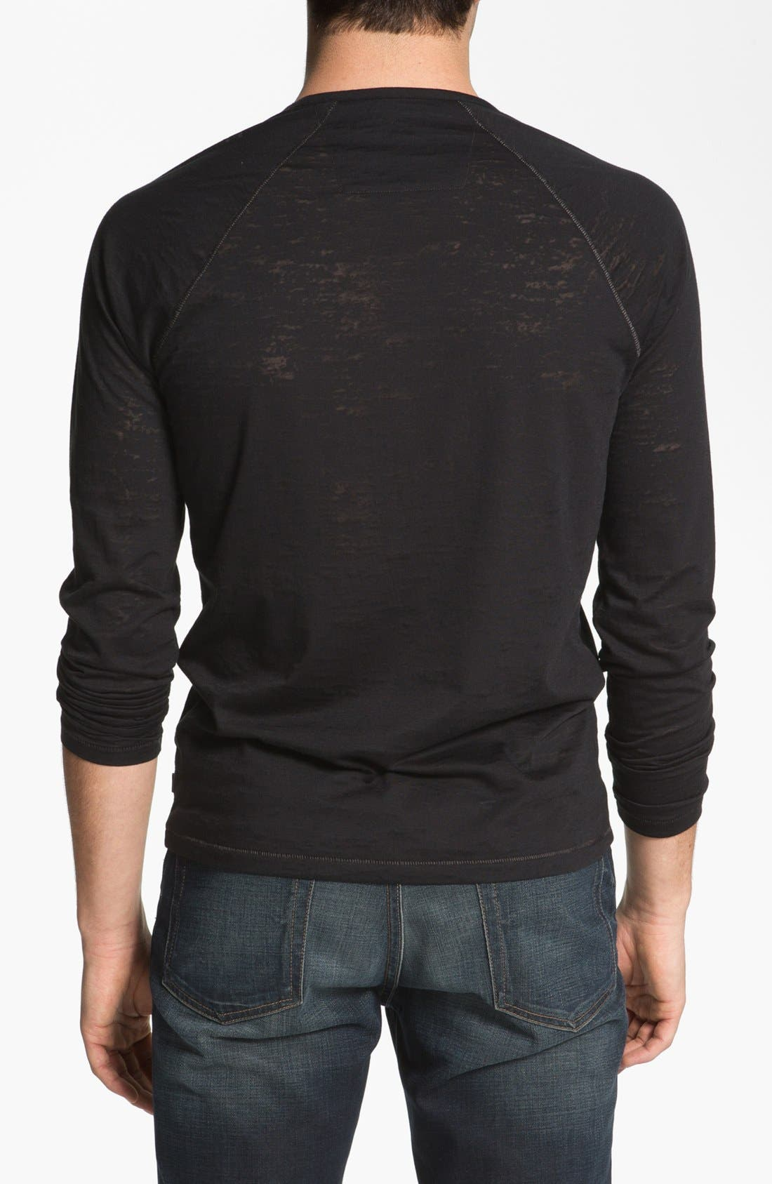 Alternate Image 2  - John Varvatos Star USA Burnout Henley