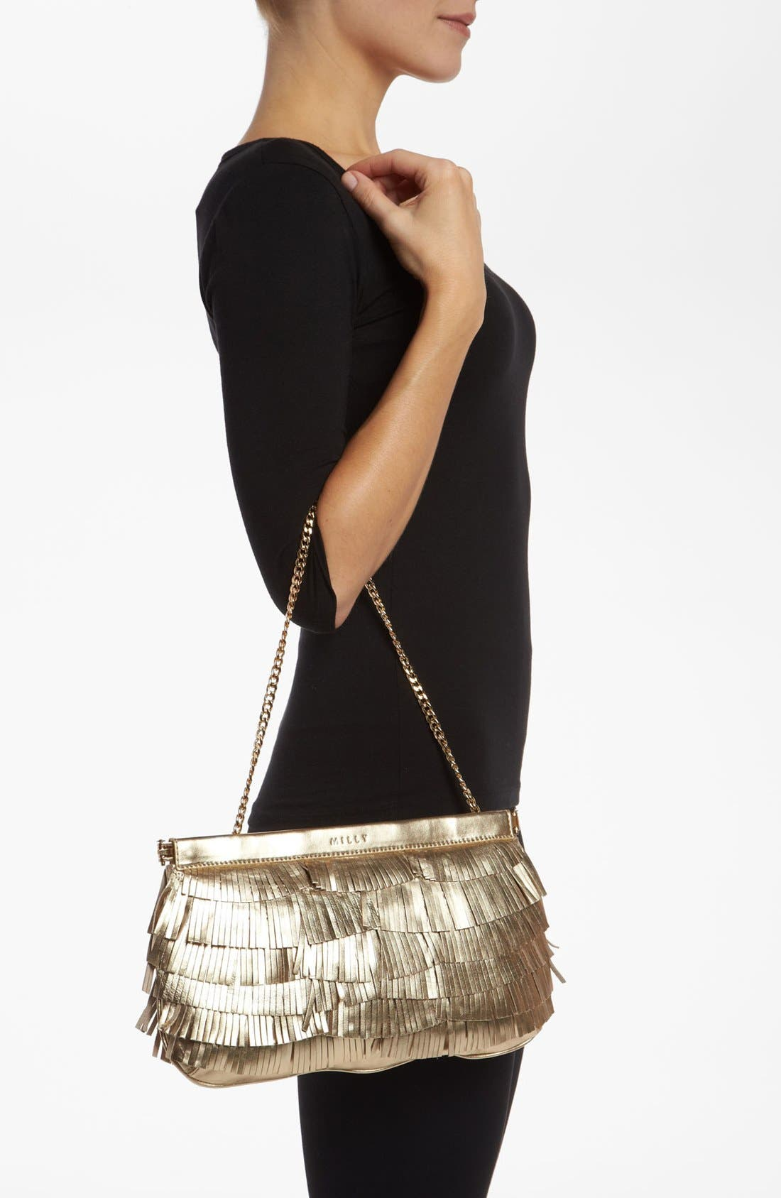Alternate Image 2  - Milly 'Nikki Fringe Facile' Clutch
