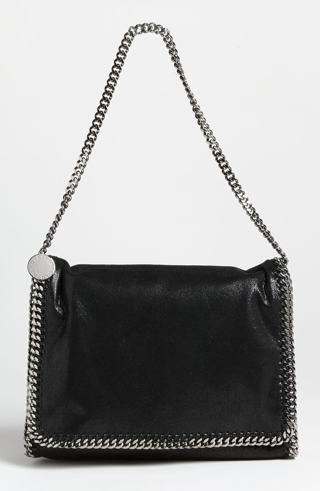 Main Image - Stella McCartney 'Falabella - Big' Faux Suede Shoulder Bag